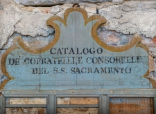 Catalogo del Santissimo Sacramento