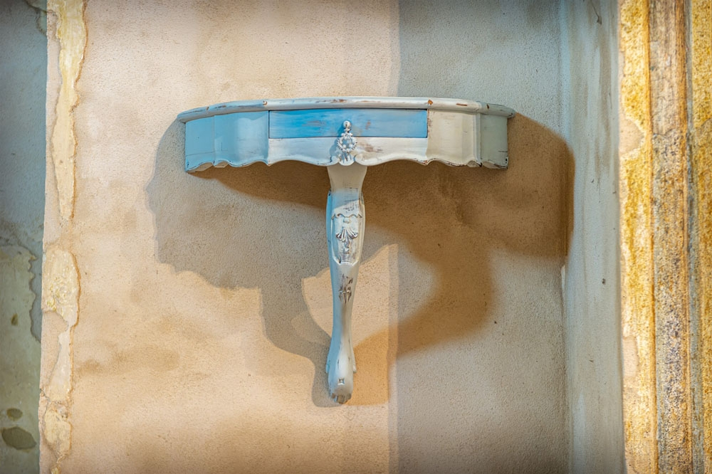 Consolle a muro shabby chic