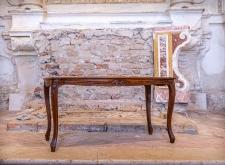 Tavolino rettangolare in legno