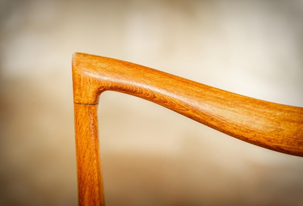 Sedia modernariato a croce